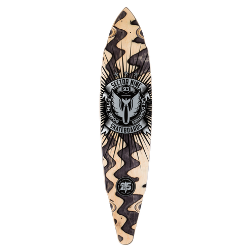 25 YEAR BHNC DECK - Buy Longboard & Cruiser Skateboard, carving skateboard & Gullwing Sidewinder Trucks