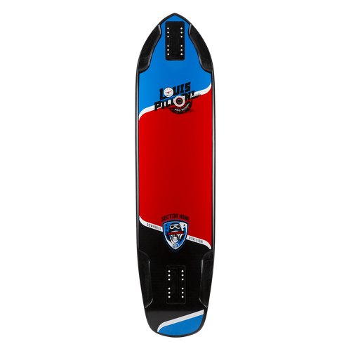 LOUIS PRO DECK - ASSORTED - Buy Longboard & Cruiser Skateboard, carving skateboard & Gullwing Sidewinder Trucks