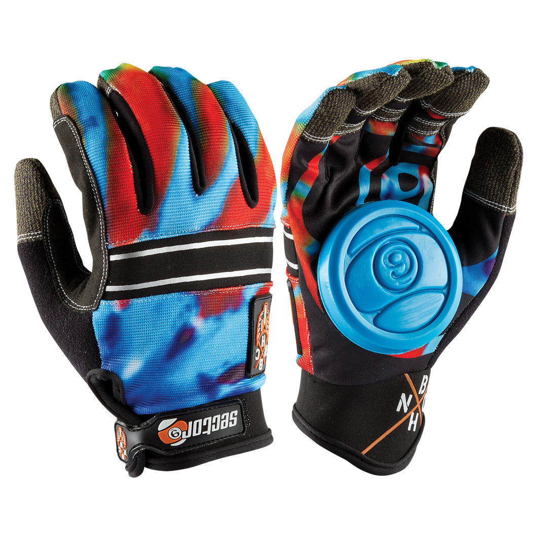BHNC Glove Acid Blue - Buy Longboard & Cruiser Skateboard, carving skateboard & Gullwing Sidewinder Trucks