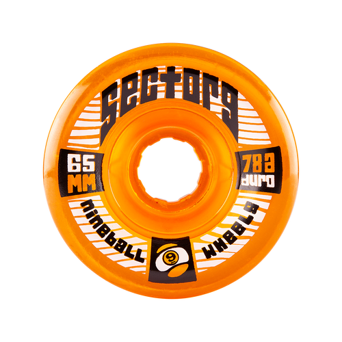 65mm 78a Nineballs Orange