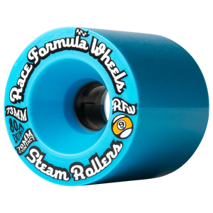 73mm 80a Steam Rollers Blue - Buy Longboard & Cruiser Skateboard, carving skateboard & Gullwing Sidewinder Trucks