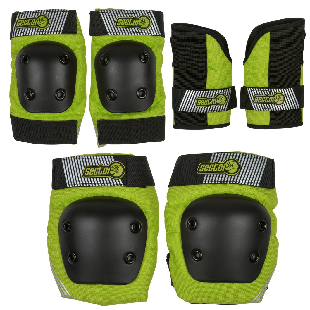 JUNIOR PURSUIT PAD SET - GREEN - Buy Longboard & Cruiser Skateboard, carving skateboard & Gullwing Sidewinder Trucks