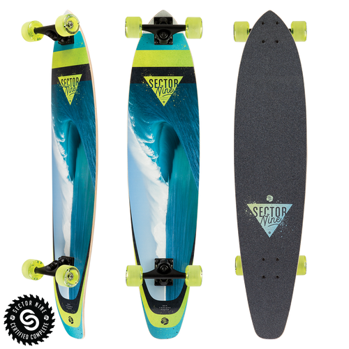 Cavern Cutback - Buy Longboard & Cruiser Skateboard, carving skateboard & Gullwing Sidewinder Trucks