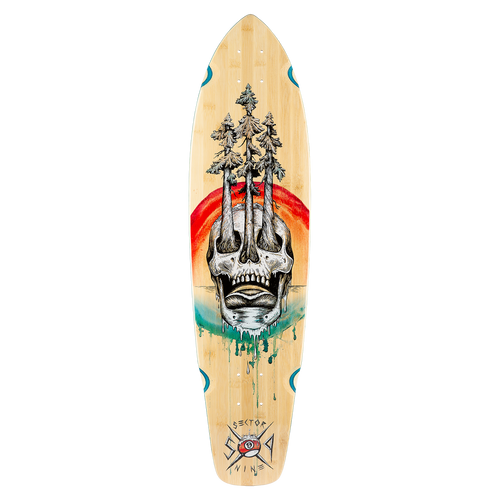 Danger Ft. Point Deck - Buy Longboard & Cruiser Skateboard, carving skateboard & Gullwing Sidewinder Trucks