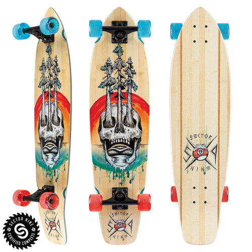 Danger Ft. Point - Buy Longboard & Cruiser Skateboard, carving skateboard & Gullwing Sidewinder Trucks