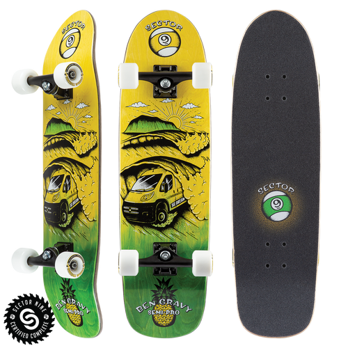 Dream Gravy Semi Pro - Buy Longboard & Cruiser Skateboard, carving skateboard & Gullwing Sidewinder Trucks