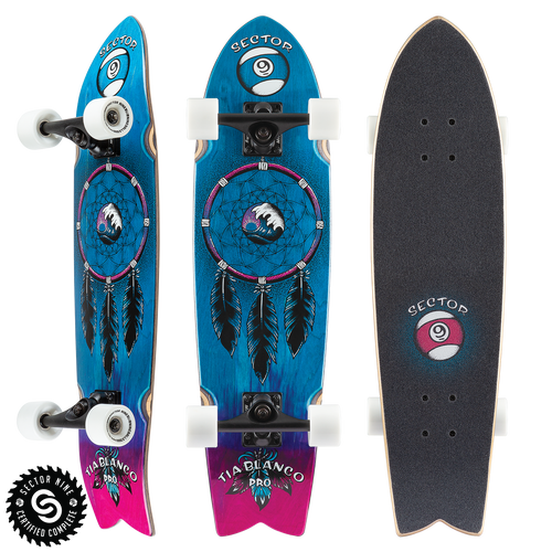 Feather Tia Pro - Buy Longboard & Cruiser Skateboard, carving skateboard & Gullwing Sidewinder Trucks