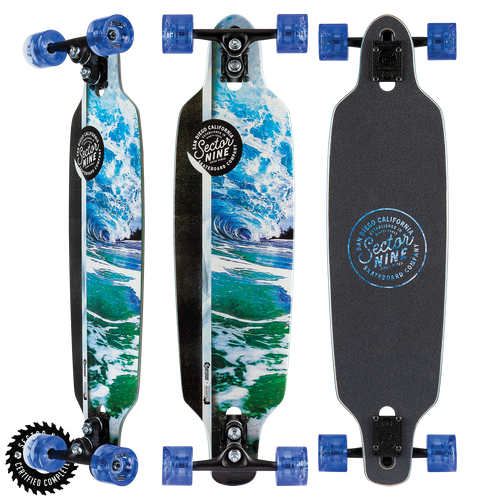 Flux Mini Fractal - Buy Longboard & Cruiser Skateboard, carving skateboard & Gullwing Sidewinder Trucks