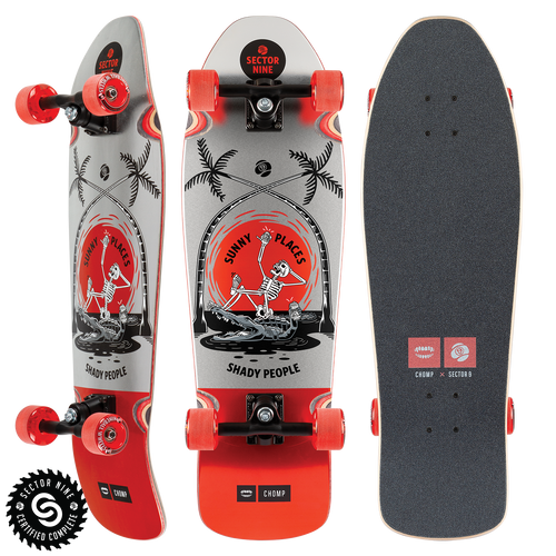 Sunny Places Sewer - Buy Longboard & Cruiser Skateboard, carving skateboard & Gullwing Sidewinder Trucks