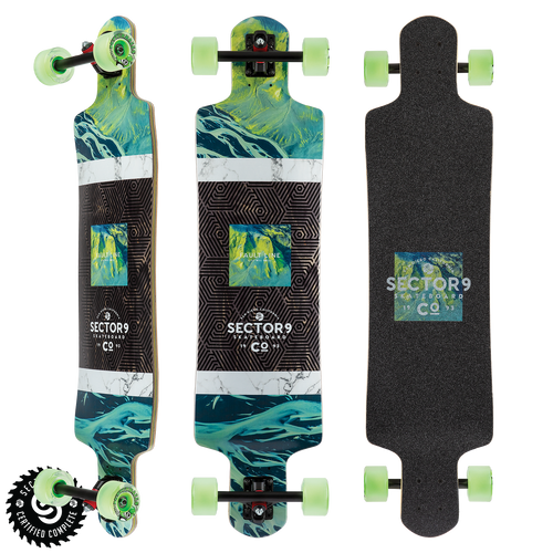 Valley Fault Line - Buy Longboard & Cruiser Skateboard, carving skateboard & Gullwing Sidewinder Trucks