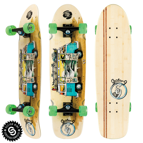 Van Bamboozler - Buy Longboard & Cruiser Skateboard, carving skateboard & Gullwing Sidewinder Trucks