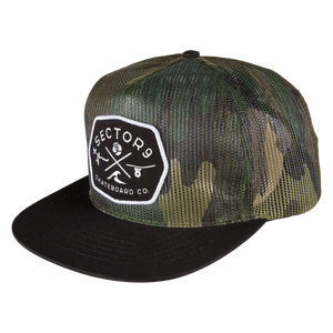 RANGE HAT - CAMO - Buy Longboard & Cruiser Skateboard, carving skateboard & Gullwing Sidewinder Trucks