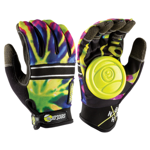 BHNC Glove Lime Burst - Buy Longboard & Cruiser Skateboard, carving skateboard & Gullwing Sidewinder Trucks