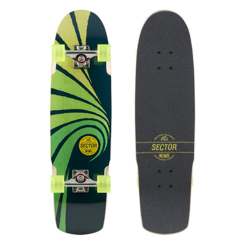 CYCLONE - GREEN - Buy Longboard & Cruiser Skateboard, carving skateboard & Gullwing Sidewinder Trucks