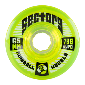 65MM 78A TOP SHELF (9BALL) - LIME GREEN - Buy Longboard & Cruiser Skateboard, carving skateboard & Gullwing Sidewinder Trucks