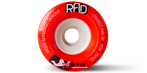 72MM 80A RELEASE - RED - Buy Longboard & Cruiser Skateboard, carving skateboard & Gullwing Sidewinder Trucks