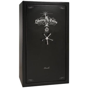 Liberty Safe-Lincoln-50-Black-Textured-Electronic-Lock-Closed
