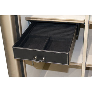 Liberty Safe-accessory-storage-jewelry-drawer-11-5-inch-under-shelf-mount-35-50-size-safes