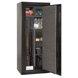 Liberty Safe-Centurion-18-Textured Black-Black Mechanical Safe Lock-Open Door