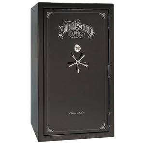 Liberty Safe-Classic Select-40-Gray Gloss-Black Chrome Mechanical Safe Lock-Open-Door