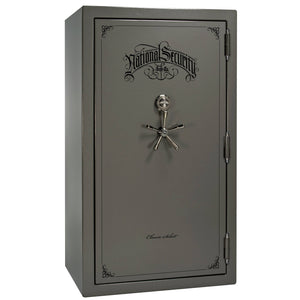 Liberty Safe-Classic Select-40-White Gloss-Black Chrome Mechanical Safe Lock-Open-Door