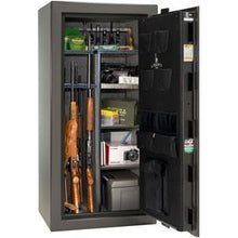 Load image into Gallery viewer, Liberty Safe-Colonial-30-Black Gloss-Polished Chrome Mechanical Safe Lock-Closed Door
