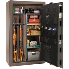 Load image into Gallery viewer, Liberty Safe-Colonial-50-Black Gloss-Polished Chrome Mechanical Safe Lock-Closed Door