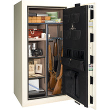 Load image into Gallery viewer, Liberty Safe-Colonial-30-White Gloss-Black Chrome Mechanical Safe Lock-Closed Door