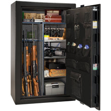 Load image into Gallery viewer, Liberty Safe-Colonial-50-Gray Gloss-Black Chrome Mechanical Safe Lock-Closed Door