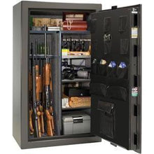 Load image into Gallery viewer, Liberty Safe-Colonial-23-Black Textured-Polished Chrome Mechanical Safe Lock-Open-Door