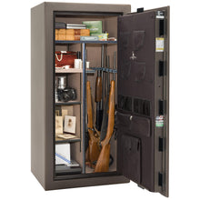 Load image into Gallery viewer, Liberty Safe-Colonial-23-Black Gloss-Polished Chrome Mechanical Safe Lock-Closed Door