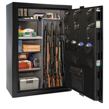 Load image into Gallery viewer, Liberty Safe-Fatboy Jr-48-Bronze Textured-Black Chrome Mechanical Safe Lock-Closed Door