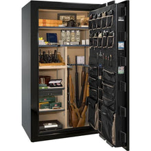 Load image into Gallery viewer, Liberty Safe-Magnum-40-Champagne Gloss-Black Chrome Mechanical Lock-Open-Door