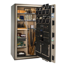 Load image into Gallery viewer, Liberty Safe-Magnum-50-Black Gloss-Brass-Mechanical Lock-Closed Door