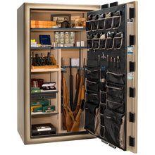 Load image into Gallery viewer, Liberty Safe-Magnum-40-Black Gloss-Brass-Mechanical Lock-Open-Door