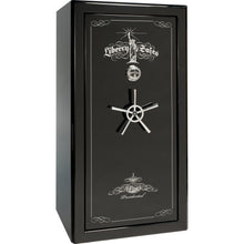 Load image into Gallery viewer, Liberty Safe-Presidential-25-Champagne Gloss-Black Chrome Mechanical Safe Lock-Closed Door