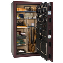 Load image into Gallery viewer, Liberty Safe-Presidential-25-Burgundy Gloss-Gold Mechanical Safe Lock-Open-Door