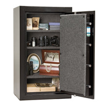 Load image into Gallery viewer, Liberty Safe-Home-8-Black Textured-Chrome Electronic Safe Lock-Open-Door