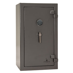 Liberty Safe-Home-5-Gray Marble-Black Chrome Electronic Safe Lock-Open-Door