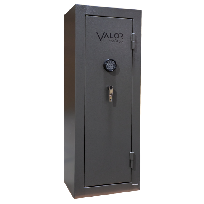 Valor 12 - 60 Minute Fire Rating - Blackout Gray - Electronic Lock