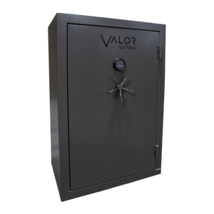 Valor 48 - 60 Minute Fire Rating - Blackout Gray - Electronic Lock