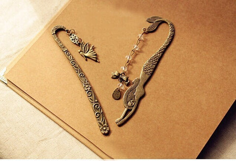 Fashion Vintage Bookmarks (Mermaid Beaded Or Angels Butterfly)