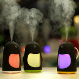Penguin Humidifiers & Diffuser with 7 Color LED Light