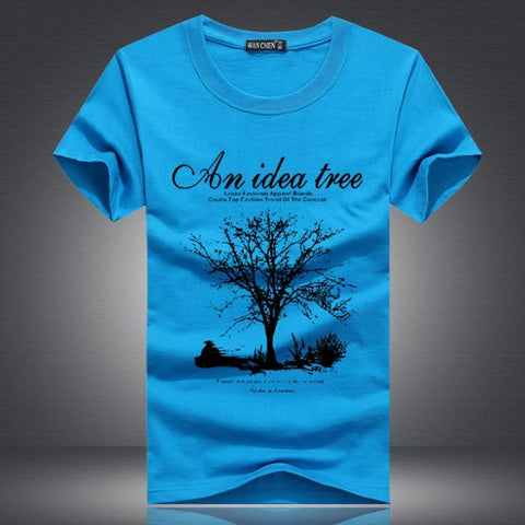 An Idea Tree T Shirts Man