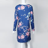 Floral Long Sleeve Dresses