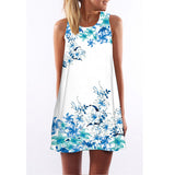 Casual Sleeveless Dress