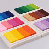 Multicolour Creative Colors Oil Based Ink Pad