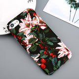 iPhoneGuards floral-leaves-iphone-case-covers T5 For iPhone 6 6s Category_For Her, Material_Silicon, Model_iPhone 6, Model_iPhone 6 Plus, Model_iPhone 7, Model_iPhone 7 Plus, Model_iPhone 8, Model_iPhone 8 Plus, Tag_Candy, Tag_Cherry, Tag_Cute, Tag_Flexible, Tag_Flower, Tag_Leaves, Tag_Tree