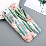 iPhoneGuards floral-leaves-iphone-case-covers T3 For iPhone 6 6s Category_For Her, Material_Silicon, Model_iPhone 6, Model_iPhone 6 Plus, Model_iPhone 7, Model_iPhone 7 Plus, Model_iPhone 8, Model_iPhone 8 Plus, Tag_Candy, Tag_Cherry, Tag_Cute, Tag_Flexible, Tag_Flower, Tag_Leaves, Tag_Tree