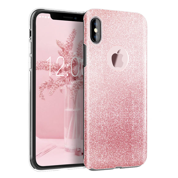 Glitter Sparkle iPhone X Case
